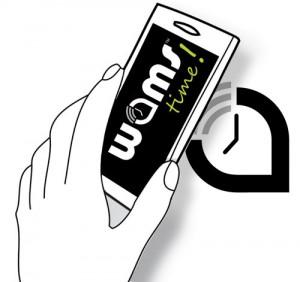Services mobile de proximité. Wamsez autour de vous et gagnez du temps ! Wams time ! france · wams.io